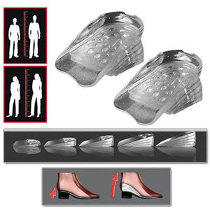 bTall - DISCREETLY look up to 5cm taller - for men and women
