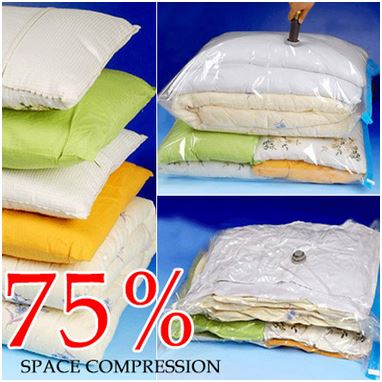 Vacuum Bags - Save up to 75% of space in you home