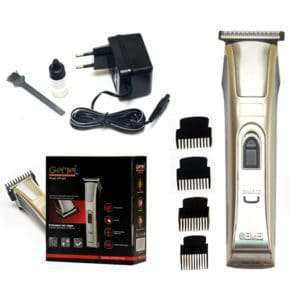 Gemei 657 – 4 in 1 wireless hair clipper and beard trimmer