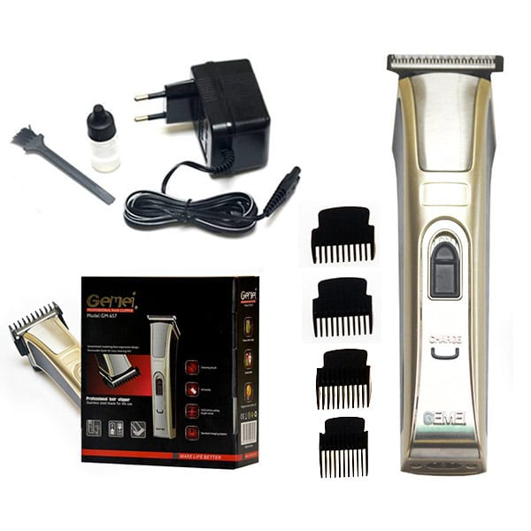 Gemei 657 - 4 in 1 wireless hair clipper and beard trimmer
