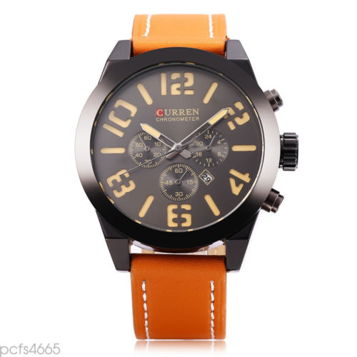 Mens Analog Water Resistant Watch 8198