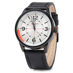 Mens Analog Water Resistant Watch 8215