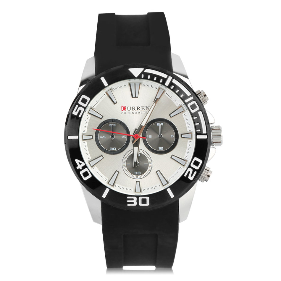 Mens Analog Water Resistant Watch 8185